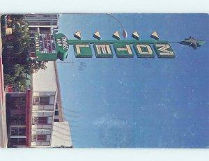 1980's TRAVEL INN MOTEL Las Vegas Nevada NV AD9554