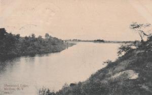 Glenwood Lake at Medina NY, New York - pm 1908 - DB