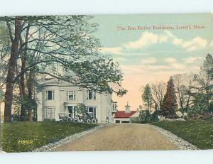 Divided-Back HISTORIC HOME Lowell Massachusetts MA hJ5045