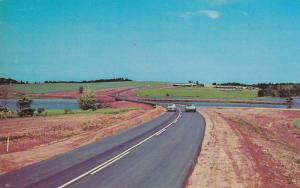 A Scenic view along Hwy 6 at Bayview,  P.E.I.,  Canada,  40-60s