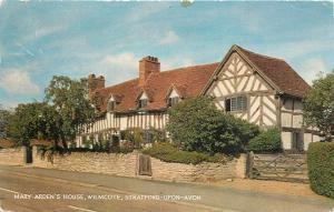 Mary Ardens House Wilmcote Stratford-Upon-Avon England pm Postcard
