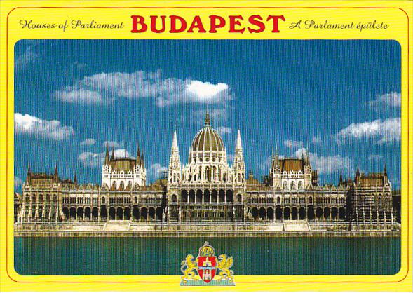 Hungary Budapest Houses Of Parliament