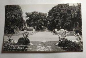 Postcard Delafield Wisconsin St John's Military Academy West Anniversary Gate