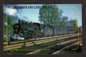 PA Bessemer Lake Erie RR Train GREENVILLE PENNSYLVANIA