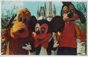 Mickey, Pluto & Goofy