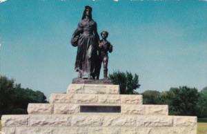 Pioneer Woman Statue Ponca City Oklahoma 1957
