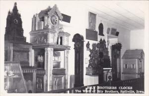 Iowa Spillville The Billy Brothers Clocks Real Photo