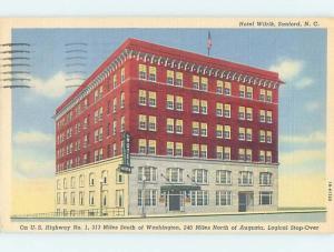 Linen HOTEL SCENE Sanford North Carolina NC H1005