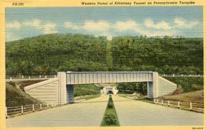 PA - Pennsylvania Turnpike  Western Portal of Kittatinny Tunnel