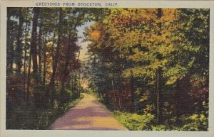 Greetings From Stockton California 1942
