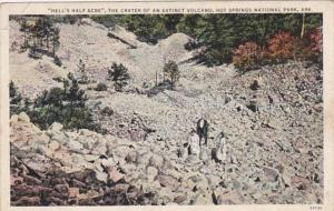 Arkansas Hot Springs Hell's Half Acre The Crater Of An Extinct Volcano C...