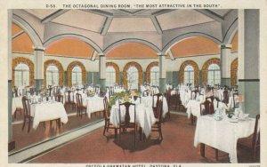 DAYTONA , Florida, 1900-10s ; Octagonal Dining Room, Osceola-Gramatan Hotel