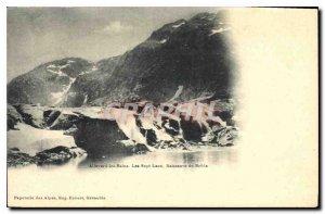Old Postcard Allevard Les Sept Laux Birth of Breda