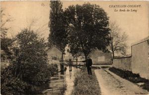 CPA CHATILLON-COLIGNY Les Bords du Loing (607474)
