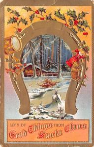 Christmas Postcard Old Vintage Antique Post Card
