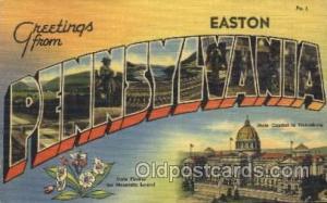 Pennsylvania, Usa Large Letter Town, Towns, Postcard Postcards  Pennsylvania,...