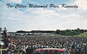 Tri-Cities Welcomed President Kennedy , Muscle Shoals , Alabama , 1960s