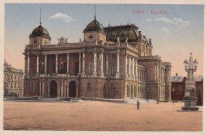 Zagreb , Croatia , 1900-10s ; Kazaliste