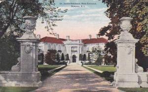 Rhode Island Newport Dr Jacobs Residence Main Entrance 1916