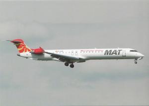 MAT MACEDONIAN AIRLINES, Bombardier CRJ-900, unused Postcard