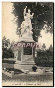 Old Postcard Bonneval the War memorial Militaria