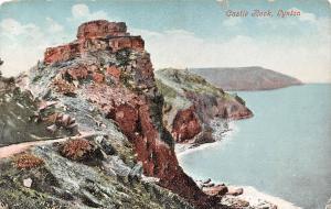 Lynton, Castle Rock, Beach, Exmoor Coast Devon 1910