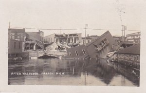 RP; ALBION , Michigan, PU-1908 , After the Flood, Albion