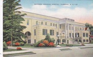 South Carolina Florence Saunders Memorial Hospital 1956