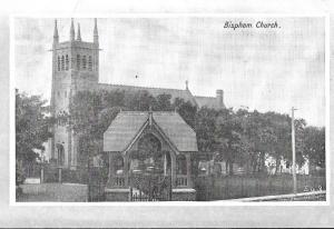 England -  Bispham Church, Lancashire,England unused #113
