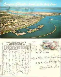 Aerial View of Corpus Christi, Texas