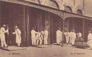 Op De Kaasmarkt, In Holland, Netherlands, 1900-1910s