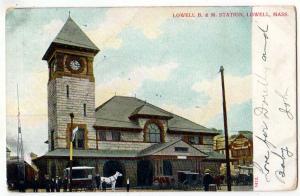 Lowell B & M Station, Lowell MA