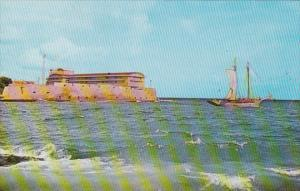 Curacao Willemstad Harbour Entrance 1965