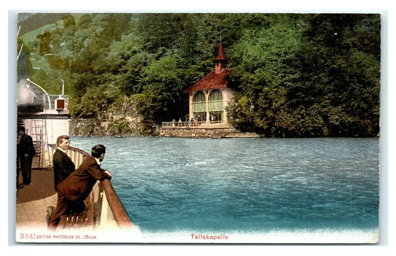 Postcard Tellskapelle - Chapel in Seelisberg, Switzerland G63