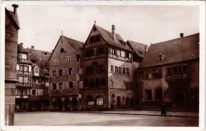 CPA Le Vieux Colmar - La Place de la Cathedrale (473240)