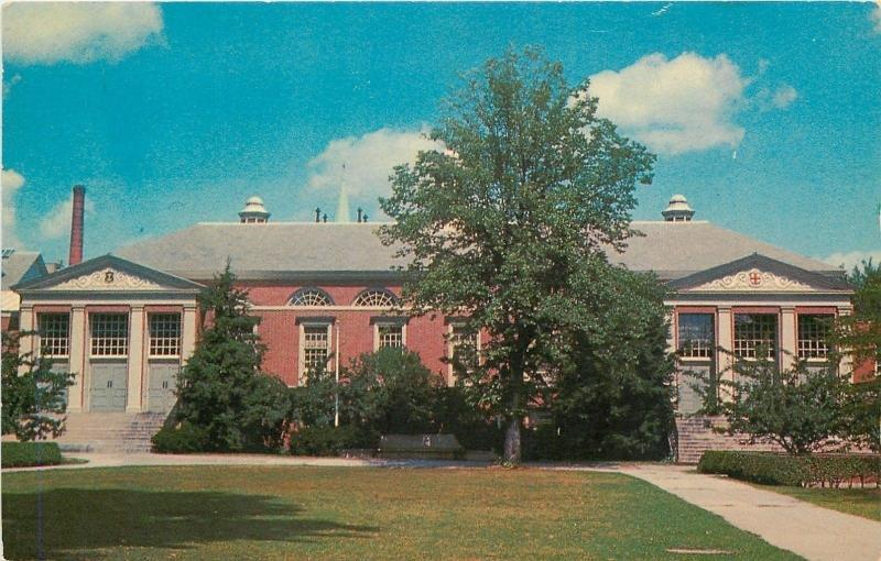 Providence Rhode Island~Sharpe Refectory Brown University 1950s