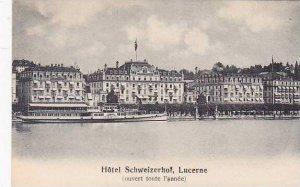 Switzerland Luzern Hotel Schweizerhof