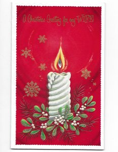 Christmas Greeting for my Wife American Greetings with Envelope Unused