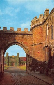 Lincoln Castle Assize Courts Gate Postcard