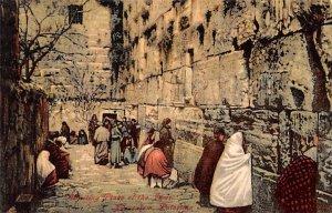 Wailing Place of the Jews JerUSA lem, Palestine JerUSA lem Unused