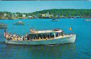 Maine Boothbay Harbor Richard T II Sightseeing Boat 1968