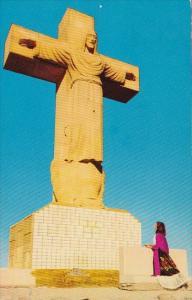 Cristo Rey The Christ Of The Rockies El Paso Texas 1960