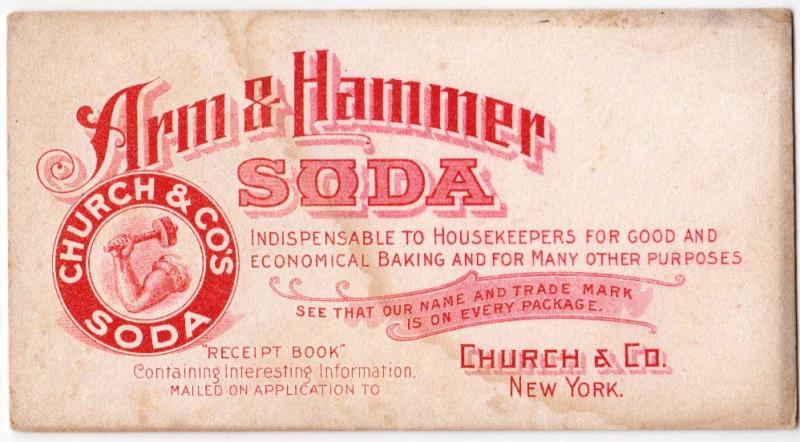 Arm & Hammer Soda, Church & CO Soda