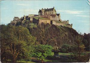 Scotland Edinburgh Castle 1974