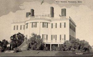 Maine Thomaston The Knox Mansion Dexter Press