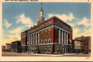 Maryland Hagerstown New City Hall