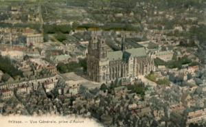 France - Orleans, Aerial View
