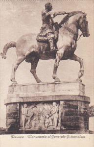 Italy Padova Monuento al Generale Gattamelata