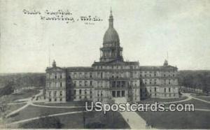 State Capitol Lansing MI 1911