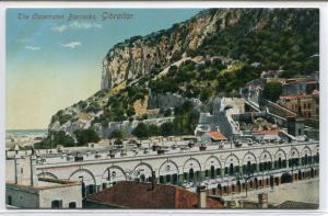 Casemates Barracks Gibraltar United Kingdom 1910c postcard